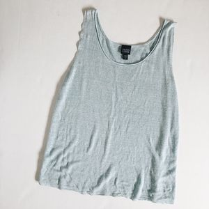 Eileen Fisher blue top size XL